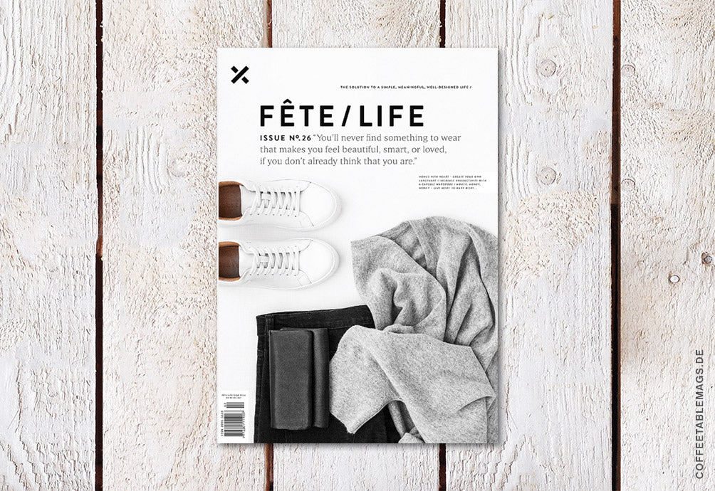 Fête/Life – Issue No. 26 – Cover