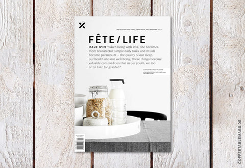Fête/Life – Issue No. 27 – Cover