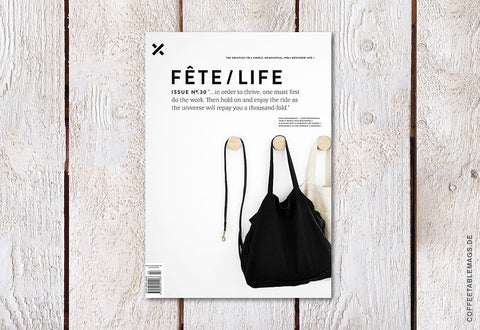 Fête/Life – Issue No. 30 – Cover
