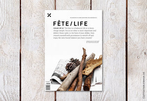 Fête/Life – Issue No. 31 – Cover