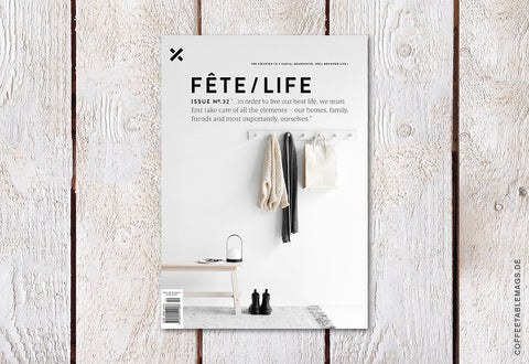 Fête/Life – Issue No. 32 – Cover