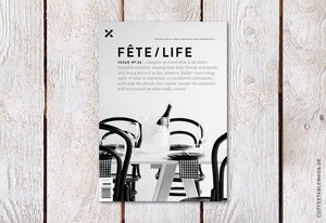 Fête/Life – Issue No. 33 – Cover
