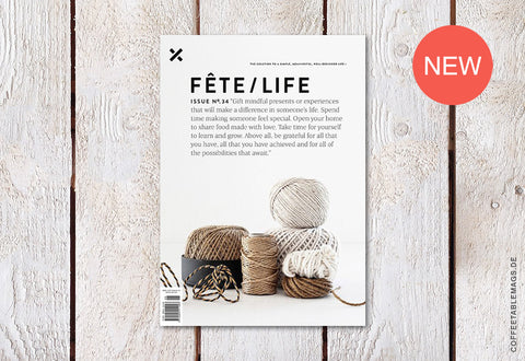 Fête/Life – Issue No. 34 – Cover