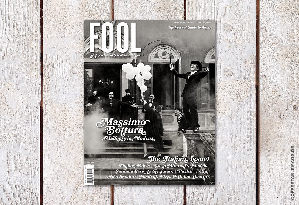 Fool – Number 04: Italy – Cover