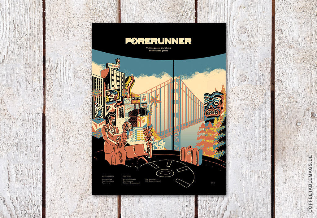 Forerunner Magazine – Number 1 – Cover