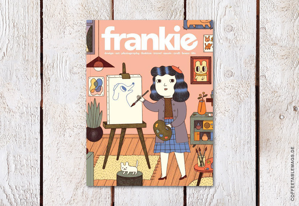frankie magazine – Issue 80 – Cover