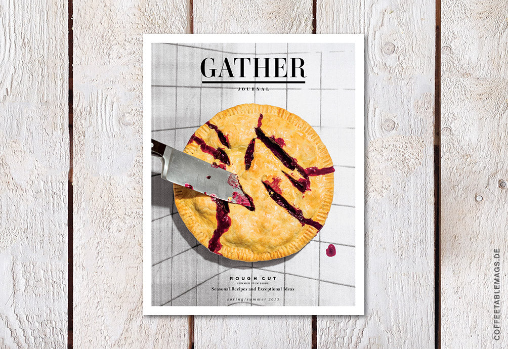 Coffee Table Mags / Independent Magazines / Gather Journal – Issue 03 – Cover