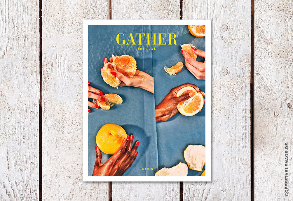 Gather Journal – Issue 12: The Senses – Cover
