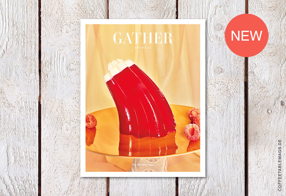 Gather Journal – Issue 13: The Getaway Issue – Cover