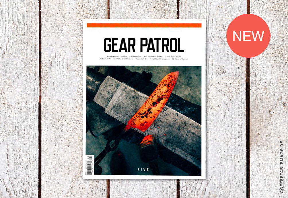 Gear Patrol Magazine – Issue 05 – Cover