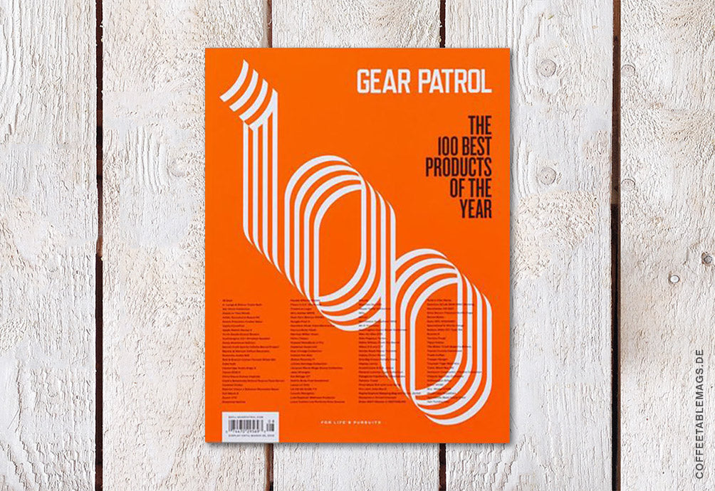 Coffee Table Mags / Independent Magazines / Gear Patrol Magazine – Issue 08 – Cover