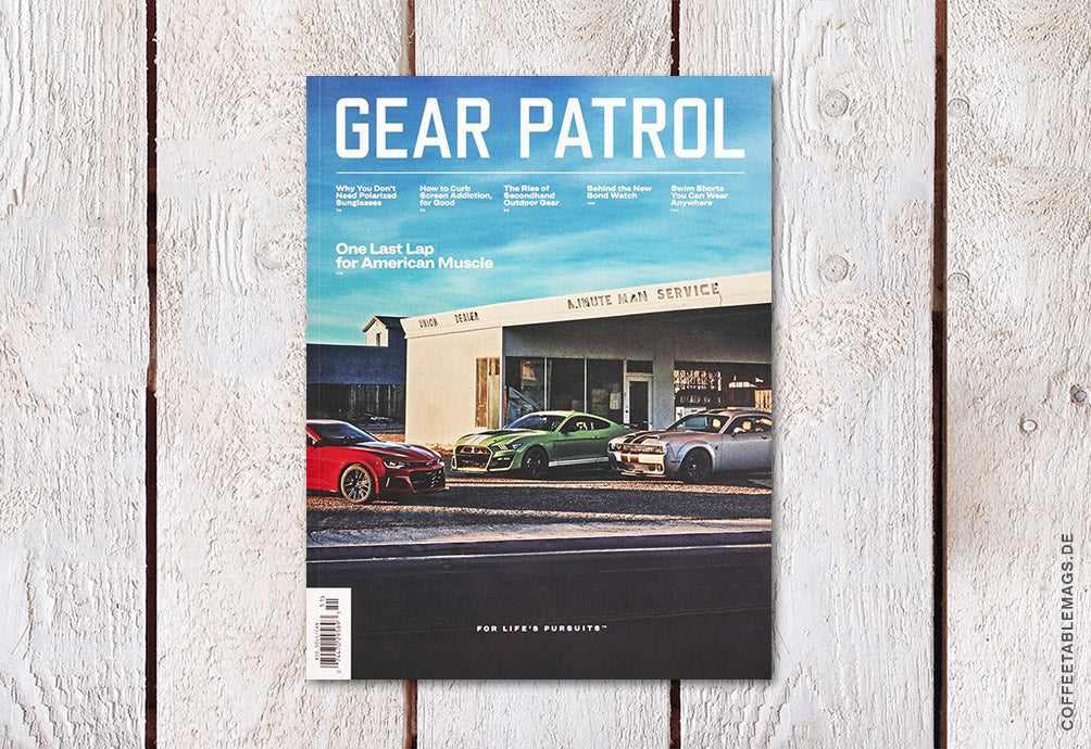 Gear Patrol Magazine – Issue 13 – Cover