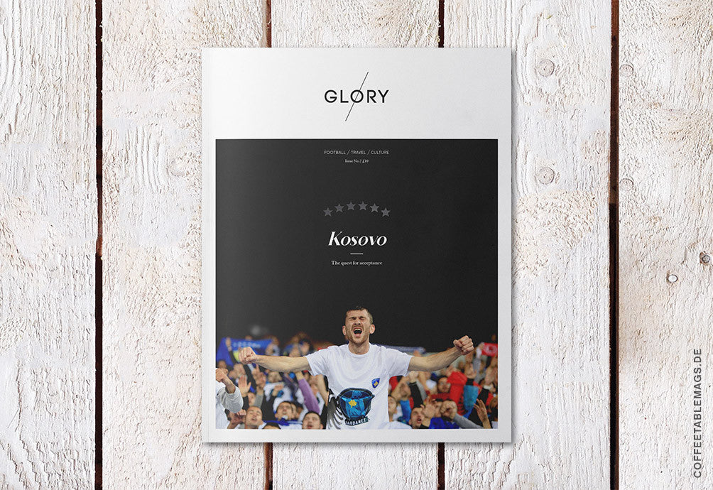 Glory Magazine – Issue 2: Kosovo – Cover