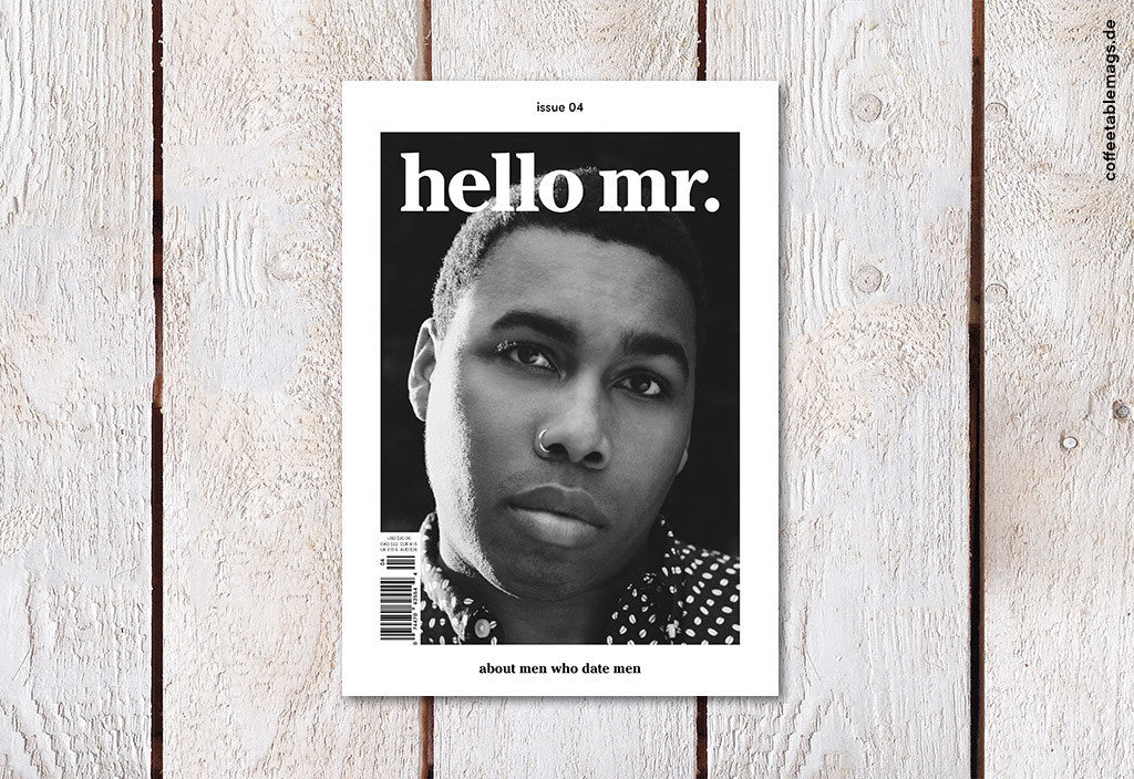 hello mr. – Issue 4 – Cover