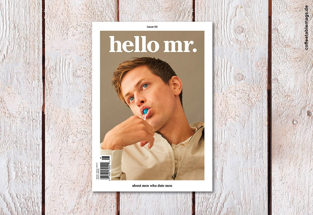 hello mr. – Issue 5 – Cover