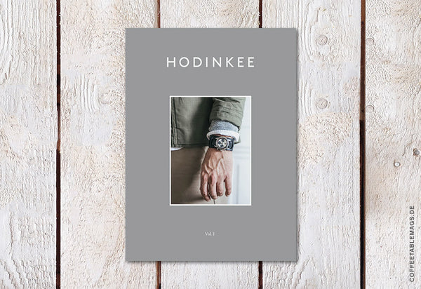 Hodinkee Magazine – Volume 01 – Cover