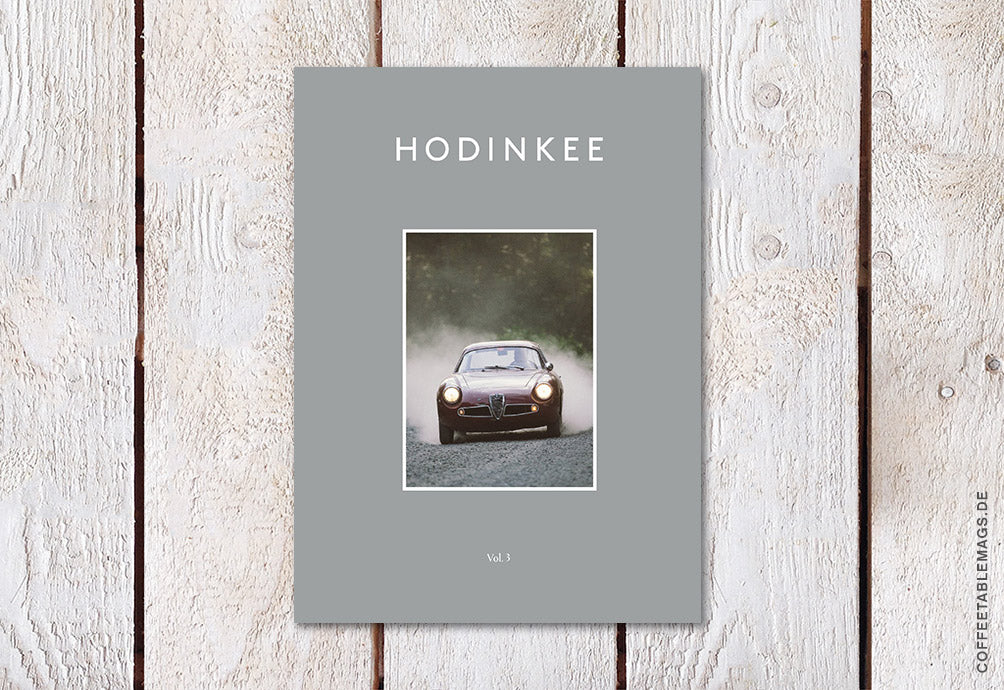 Hodinkee Magazine – Volume 03 – Cover