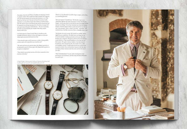 Coffee Table Mags / Independent Magazines / Hodinkee Magazine – Volume 04 – Inside 03