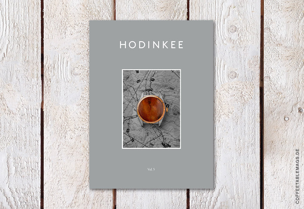 Hodinkee Magazine – Volume 05 – Cover