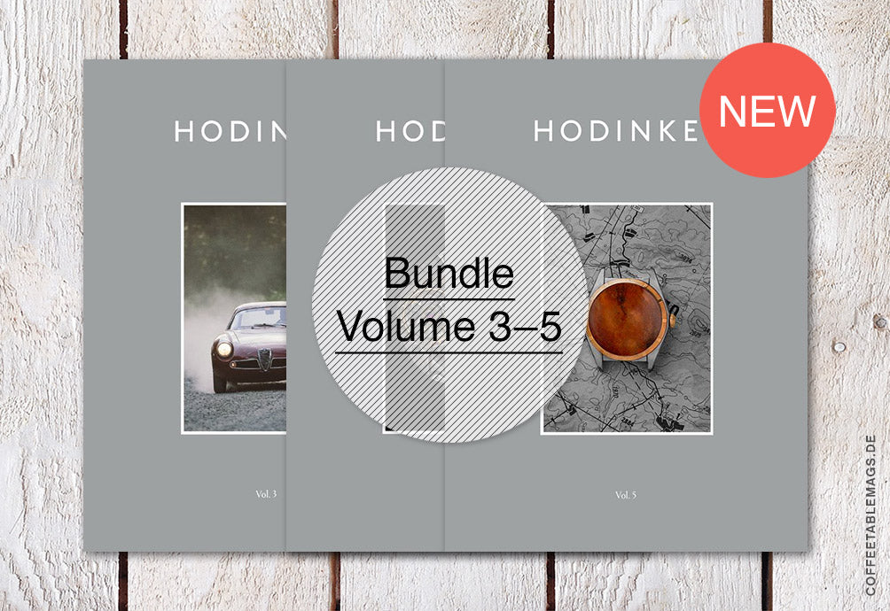 Hodinkee Magazine – Bundle (Volume 03–05) – Cover