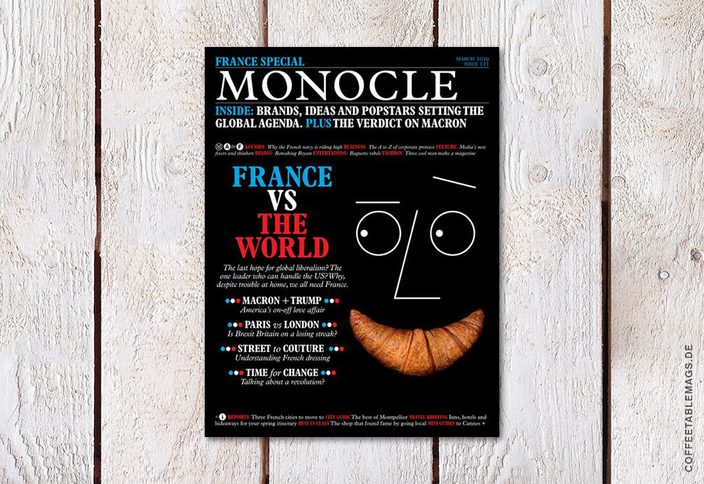 Coffee Table Mags // Independent Magazines // Monocle – Issue 120 – Cover