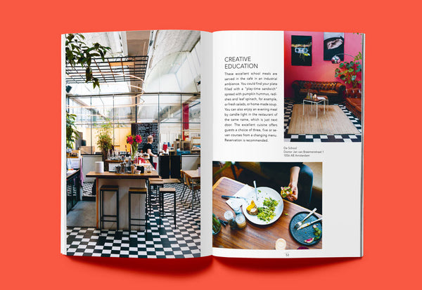 Coffee Table Mags // Independent Magazines & Books // Ankerwechsel – Hello Amsterdam: 27 Tips on cafés, culture and more – Inside 02