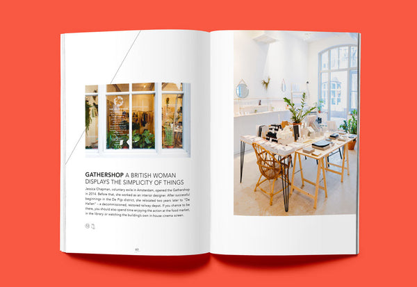 Coffee Table Mags // Independent Magazines & Books // Ankerwechsel – Hello Amsterdam: 27 Tips on cafés, culture and more – Inside 03