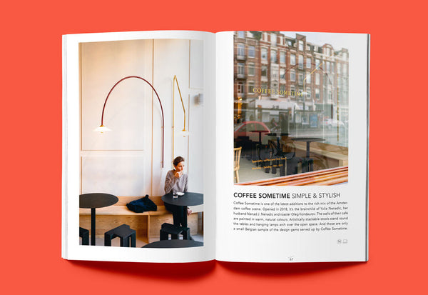 Coffee Table Mags // Independent Magazines & Books // Ankerwechsel – Hello Amsterdam: 27 Tips on cafés, culture and more – Inside 04