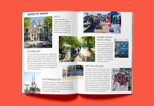 Coffee Table Mags // Independent Magazines & Books // Ankerwechsel – Hello Amsterdam: 27 Tips on cafés, culture and more – Inside 07