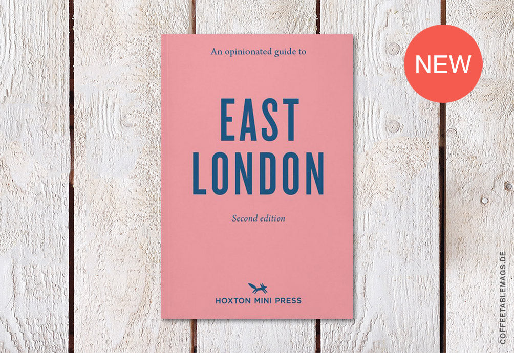 Coffee Table Mags // Independent Magazines & Books // East London: An Opinionated Guide (2nd Edition) – Cover