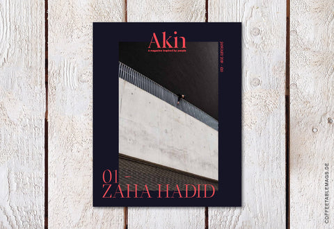 Akin Magazine  – Issue 01: Zaha Hadid – Cover