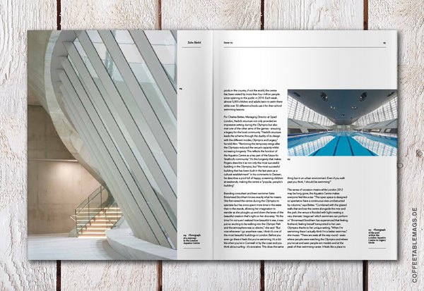 Coffee Table Mags // Independent Magazines // Akin Magazine  – Issue 01: Zaha Hadid – Inside 07