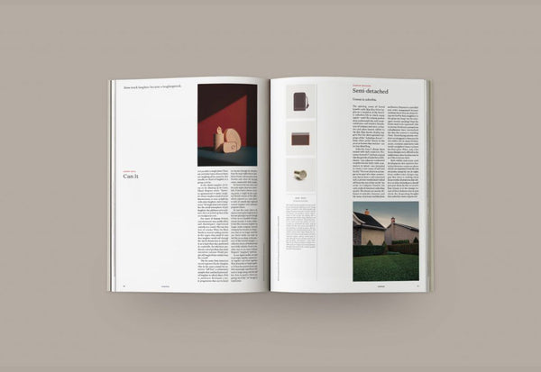 Coffee Table Mags // Independent Magazines // Kinfolk – Issue 31: Architecture – Inside 01