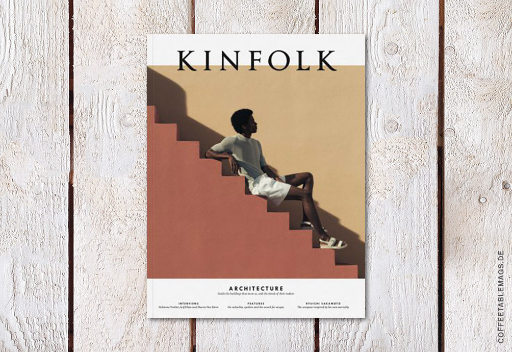 Coffee Table Mags // Independent Magazines // Kinfolk – Issue 31: Architecture – Cover