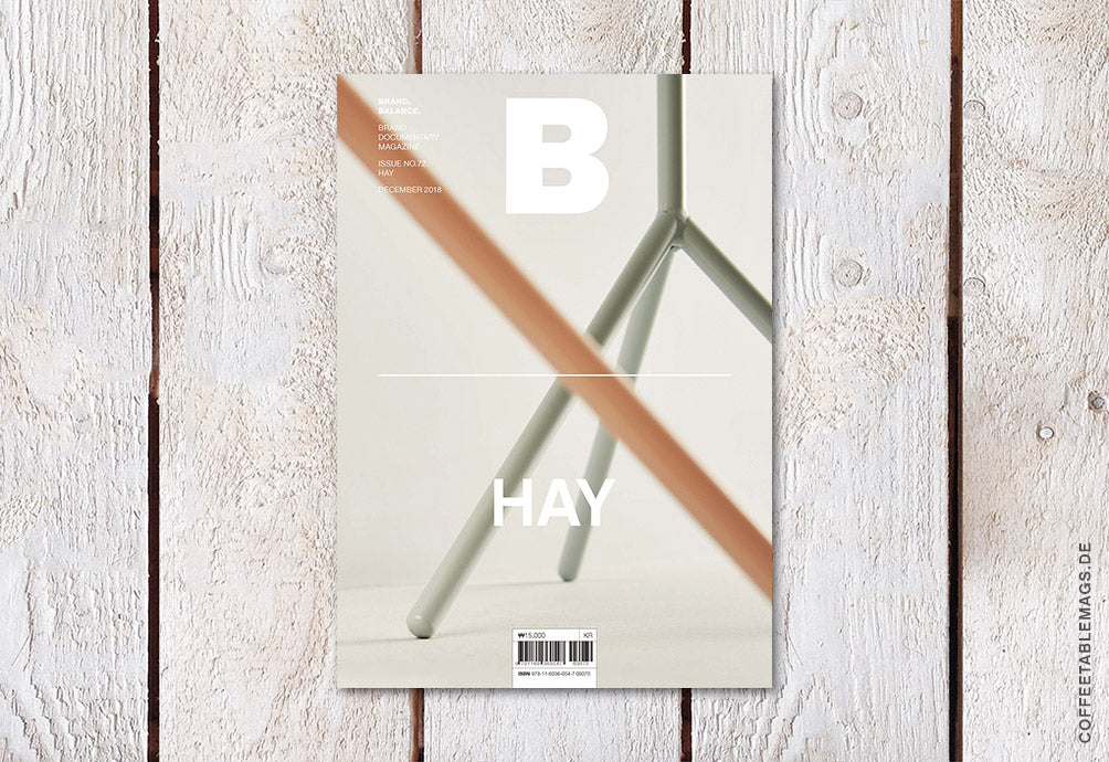 Coffee Table Mags // Independent Magazines // Magazine B – Issue 72: Hay – Cover