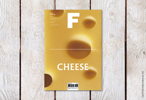 Coffee Table Mags // Independent Magazines // Magazine F – Issue 02: Cheese – Cover