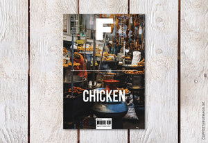 Coffee Table Mags // Independent Magazines // Magazine F – Issue 03: Chicken – Cover