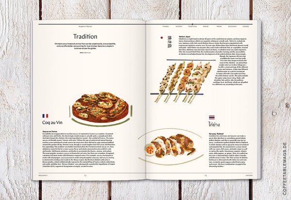 Coffee Table Mags // Independent Magazines // Magazine F – Issue 03: Chicken – Inside 06