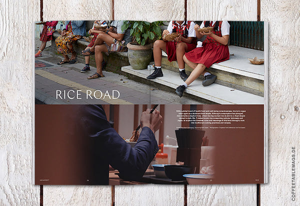 Coffee Table Mags / Independent Magazines / Magazine F – Issue 05: Rice – Inside 02
