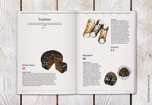 Coffee Table Mags / Independent Magazines / Magazine F – Issue 06: Chocolate – Inside 04