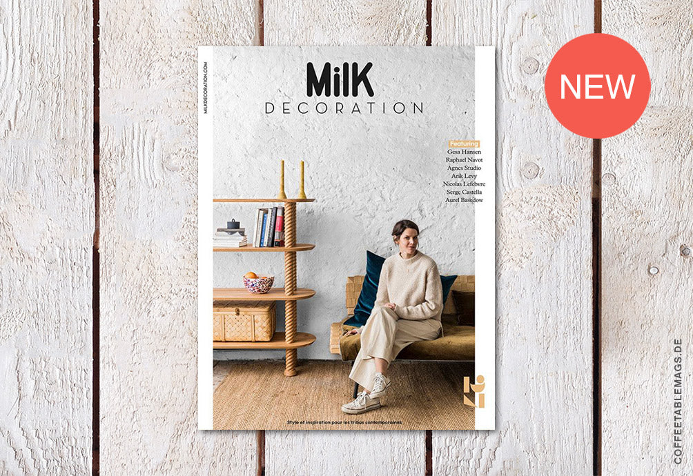 Coffee Table Mags // Independent Magazines // Milk Decoration – Number 27 – Cover
