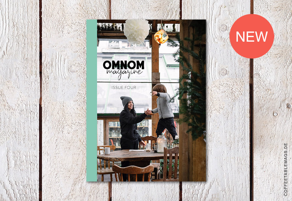 Coffee Table Mags // Independent Magazines // Omnom Magazine – Issue 04 – Cover