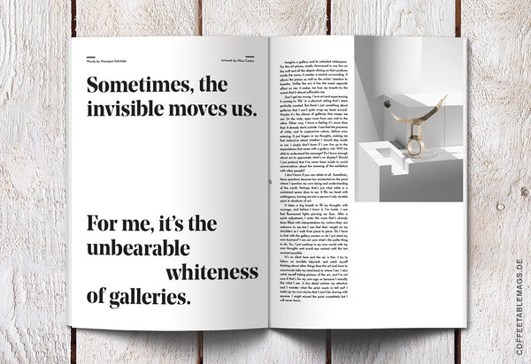 Coffee Table Mags // Independent Magazines // Sindroms – Issue #3: White – Inside 07