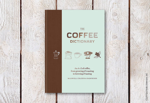 The Coffee Dictionary – Cover