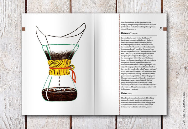 Coffee Table Mags // Independent Magazines & Books // The Coffee Dictionary – Inside 01