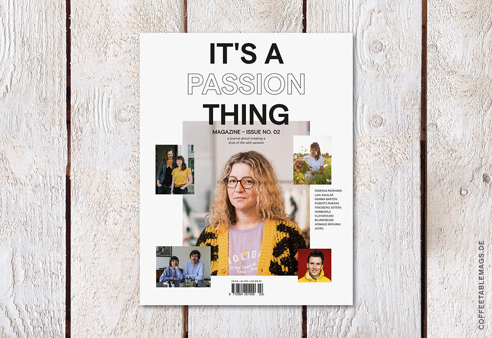 It's A Passion Thing – Issue No. 02 – Cover