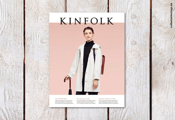 Kinfolk Magazine – Issue Fourteen – Cover