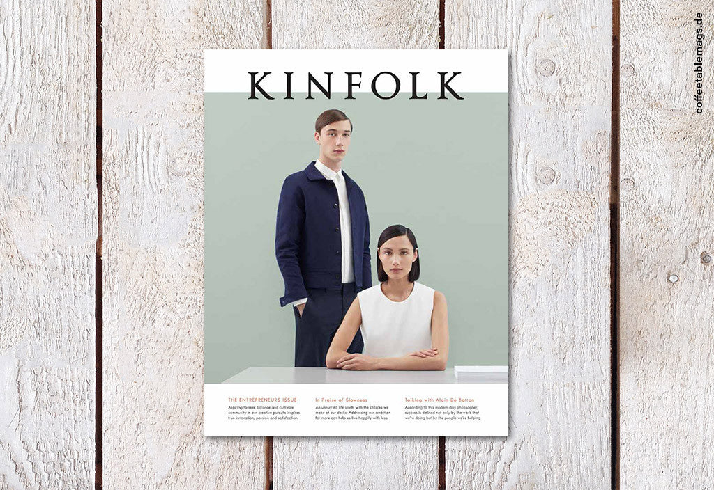 Kinfolk – Issue 15 – Cover