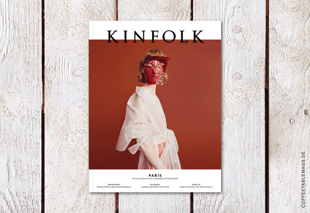 Kinfolk – Issue 27: The Paris Issue – Cover