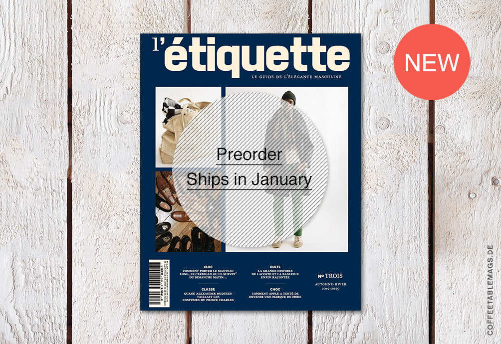 L'Étiquette Magazine – Number 03 (French only!)